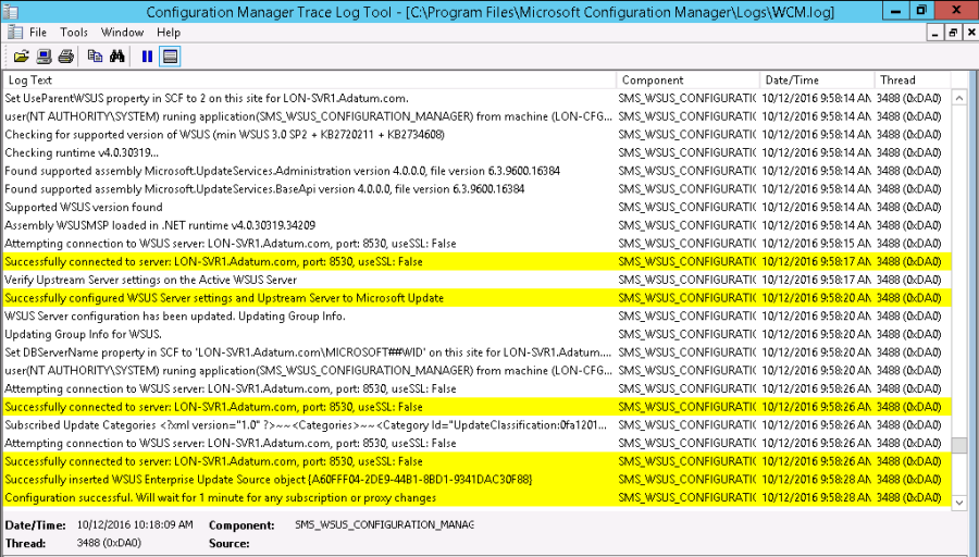Troubleshooting software update using SCCM 2012 – Part 2 – AN IT