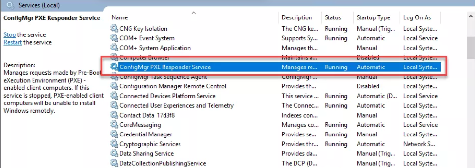 PXE without WDS in SCCM 1806 – AN IT DIARY of Windows, SCCM