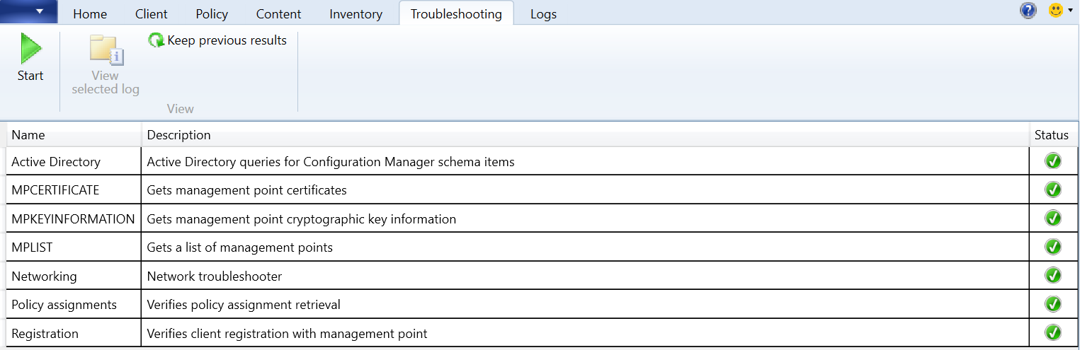 Support Center SCCM: CMTrace replacement – AN IT DIARY of